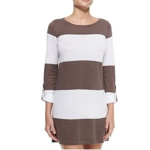 Tommy Bahama Beach Sweater taupe and White